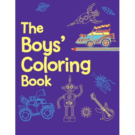 The Boys' Coloring Book (Paperback)](Coloring Books For Boys)