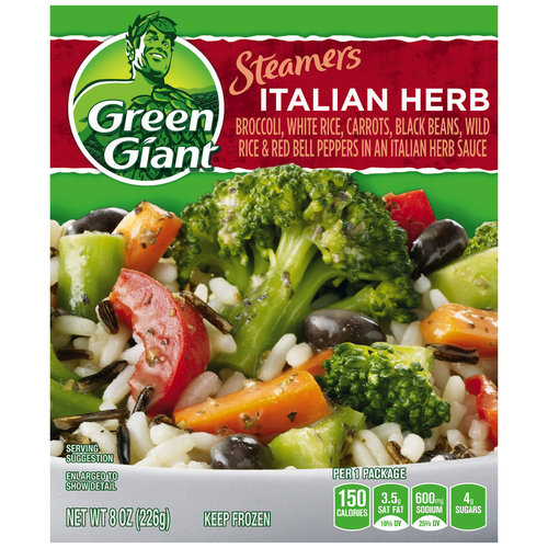 Green Giant Steamers Italian Herb, 8 oz