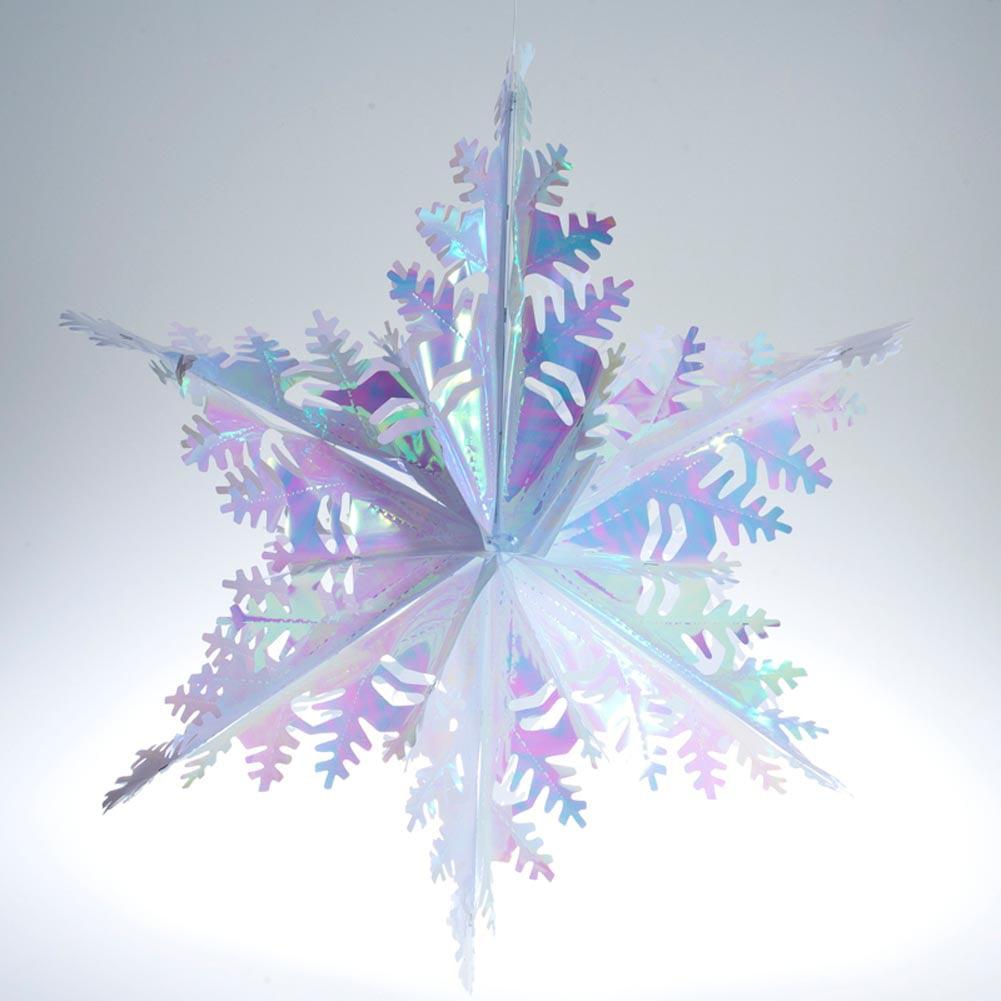 Metallic Opal Winter Snowflake