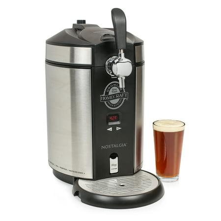 Nostalgia CBD5SS Homecraft On Tap Beer Growler System