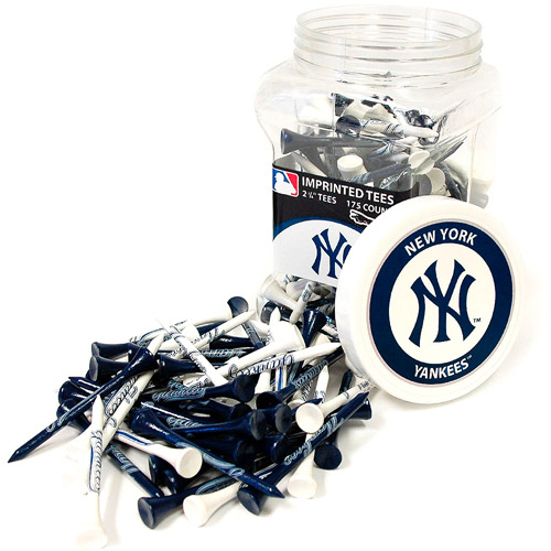 Team Golf MLB New York Yankees Jar Of 175 Golf Tees