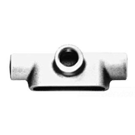 Crouse-Hinds T65MTC Die Cast Aluminum Type T Conduit Outlet Body With Cover and Gasket 2 Inch Condulet 2' Conduit Outlet Body Cover