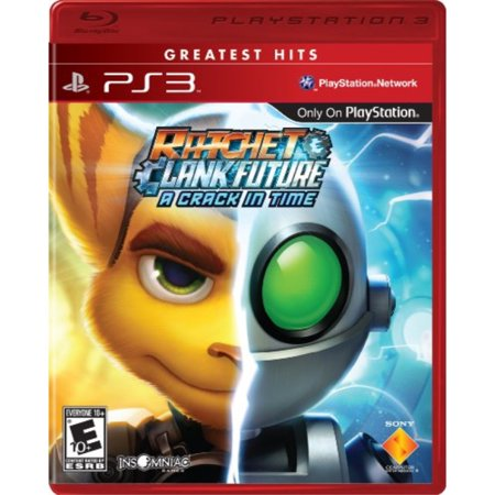 Ratchet & Clank Future: A Crack In Time - Playstation (Chronological Order Of Ratchet And Clank Games)