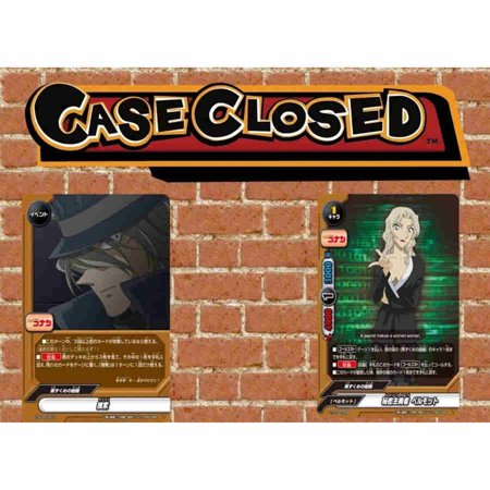 Future Card Buddyfight TCG English BFE-S-TDC02 Case Closed - Side: Black Ace Trial Deck Cross V2 - per deck of 52 cards