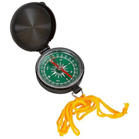 Joy Enterprises Fp15641 Fury Mustang Directional Compass  1 75    Olive Drab Case With Lanyard Ring