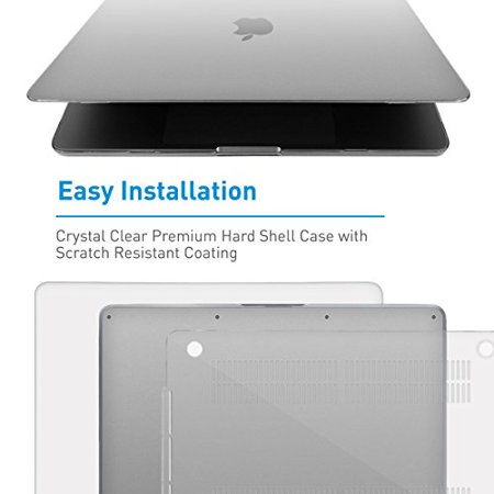 """Macally Protective Case for 15"""" MacBook Pro with Touch Bar (2016) - Clear - image 3 of 4"""