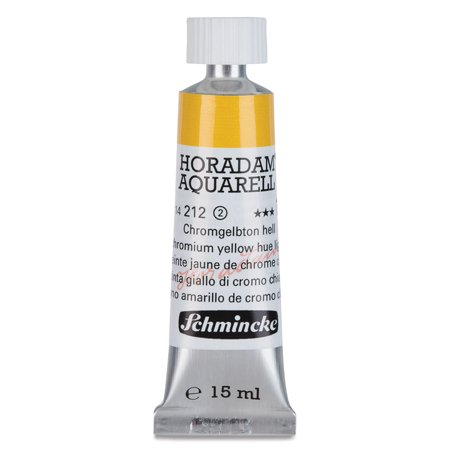 Schmincke Horadam Aquarell Artist Watercolor - Chrome Yellow Light, 15 ml tube