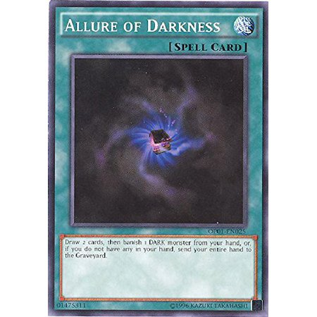 Yu-Gi-Oh! - Allure of Darkness (OP01-EN025) - OTS Tournament Pack 1 - Unlimited Edition - Common, A single individual card from the Yu-Gi-Oh! trading and.., By YuGiOh Ship from - Tournament Pack 4 Singles