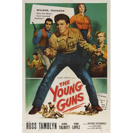 Posterazzi MOVAB76843 The Young Guns Movie Poster - 27 x 40 in. - image 1 de 1
