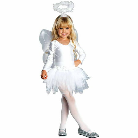 Easy Halloween Costume Ideas From Closet (Angel Child Halloween Costume)