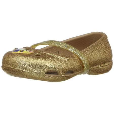 67665c11ca4ade Crocs - Crocs Kids  Lina Beauty Andthe Beast Flat - Walmart.com