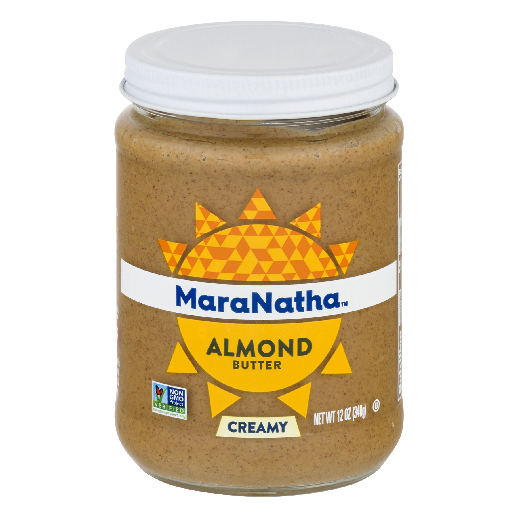 MaraNatha No Stir Creamy Almond Butter, 12 oz.