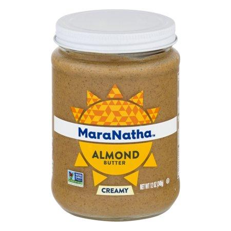 - MaraNatha No Stir Creamy Almond Butter, 12 oz.