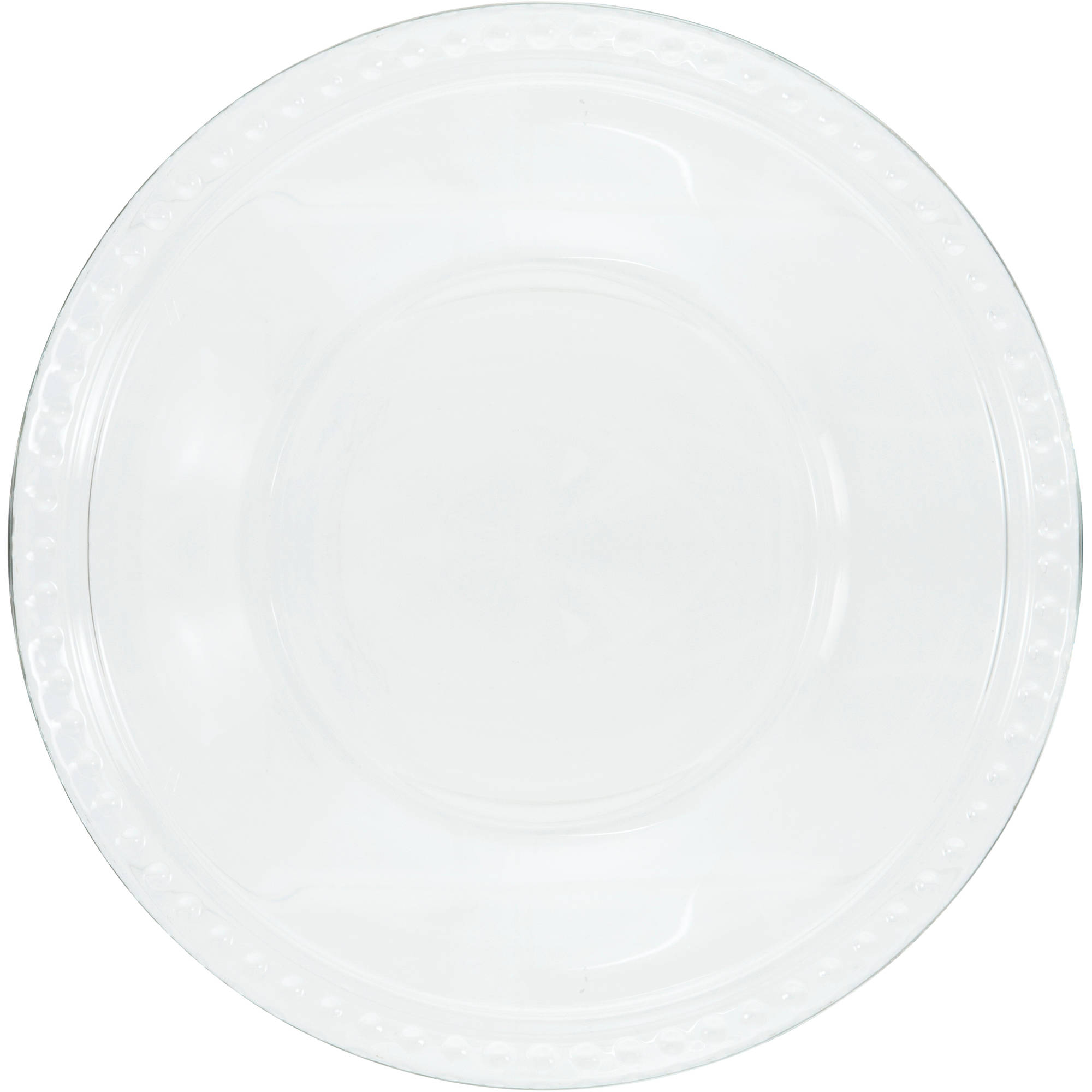 "Anchor Hocking 8"" Isabella Clear Glass Side Plate, 12-Pack"