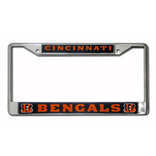NFL - Cincinnati Bengals Chrome License Plate Frame