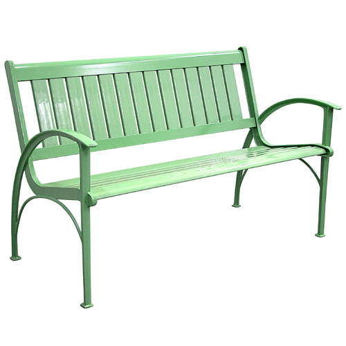 Innova Contempo 4 ft. Cast Aluminum Park Bench