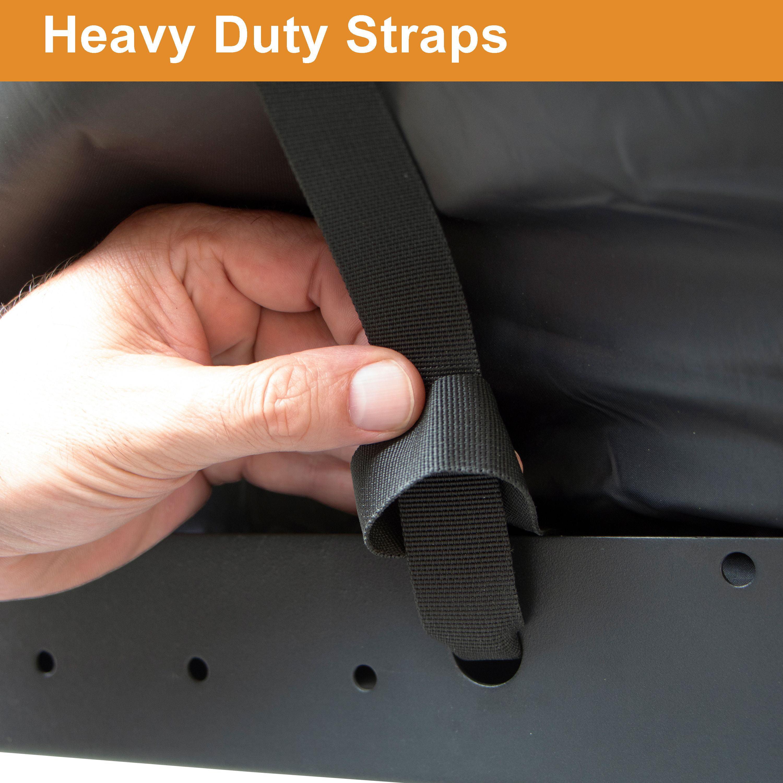 2 100/% Waterproof Black Set of Rightline Gear 100T62 Rightline Gear Hitch Rack Dry Bags