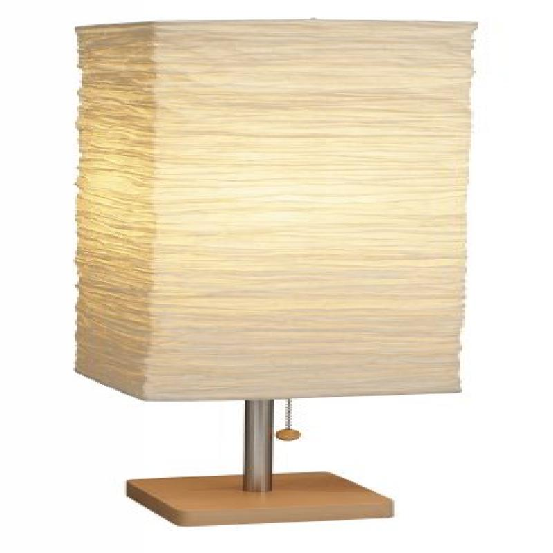 Adesso 8021-12 Dune Table Lamp, Natural