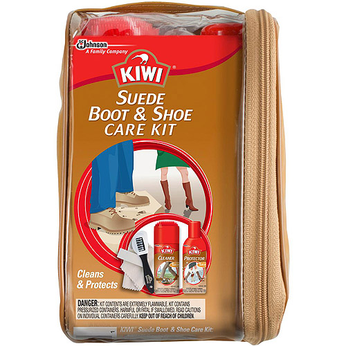 KIWI Suede Boot & Shoe Care Kit, 5 pc