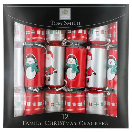 Tom Smith Family Fun Christmas Crackers - 12 pack ()