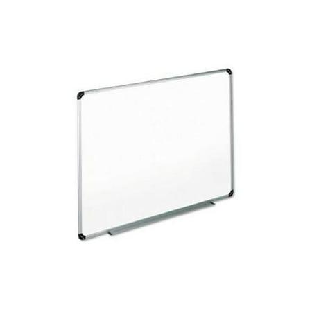 Dry Erase Board, Melamine, 36 x 24, White, Black/Gray Aluminum ...