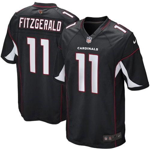 Larry Fitzgerald Arizona Cardinals Nike Youth Alternate Game Jersey - Black