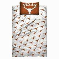 Texas Longhorns NCAA Licensed 4 Piece Full Sheet Set