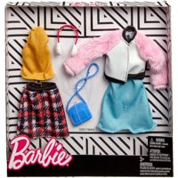 Barbie Winter Fashion Pack with 2-Outfits & 2-Accessories