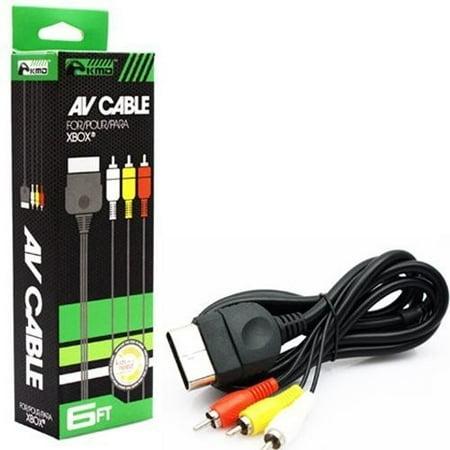 KMD AV Cable for Microsoft Xbox (Xbox Av Cable)