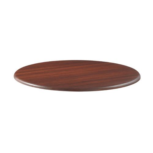 "Round Table Top, 42"" Diameter, Mahogany ICE65033"