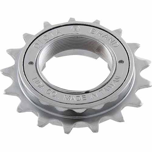 Ventura Single-Speed 18 Teeth Silver Freewheel
