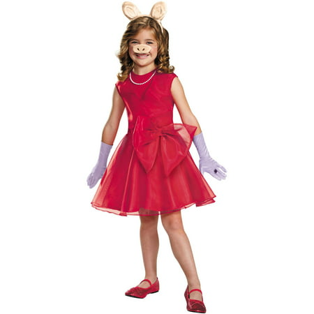 Miss Piggy Girls Child Halloween Costume](Little Piggy Costume)