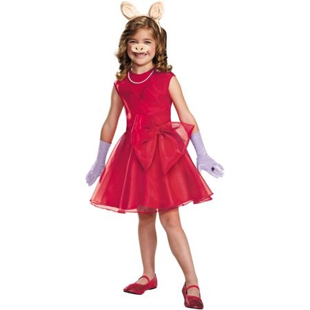 Miss Piggy Girls Child Halloween Costume - Miss Piggy Halloween Costume Infant