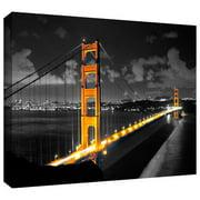 ArtWall 'San Francisco Bridge' by Revolver Ocelot Photographic Print on Wrapped Canvas