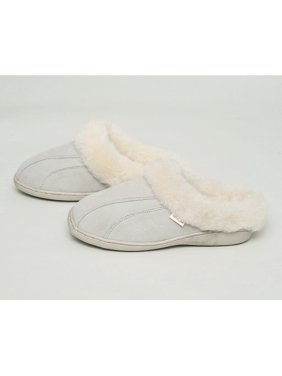 Tamarac by Slippers International Womens Cozy Clog Shearling Slipper ROOTBEER / 6