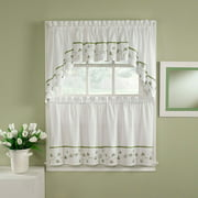 CHF You Clover Tailored Kitchen Curtains