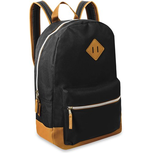 17.5'' Classic Backpack With Reinforced Vinyl Bottom and Comfort Padding