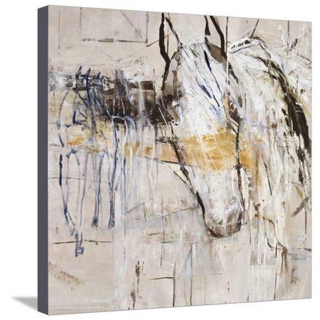- Palomino Twist Horse Animal Art Stretched Canvas Print Wall Art By Jodi Maas