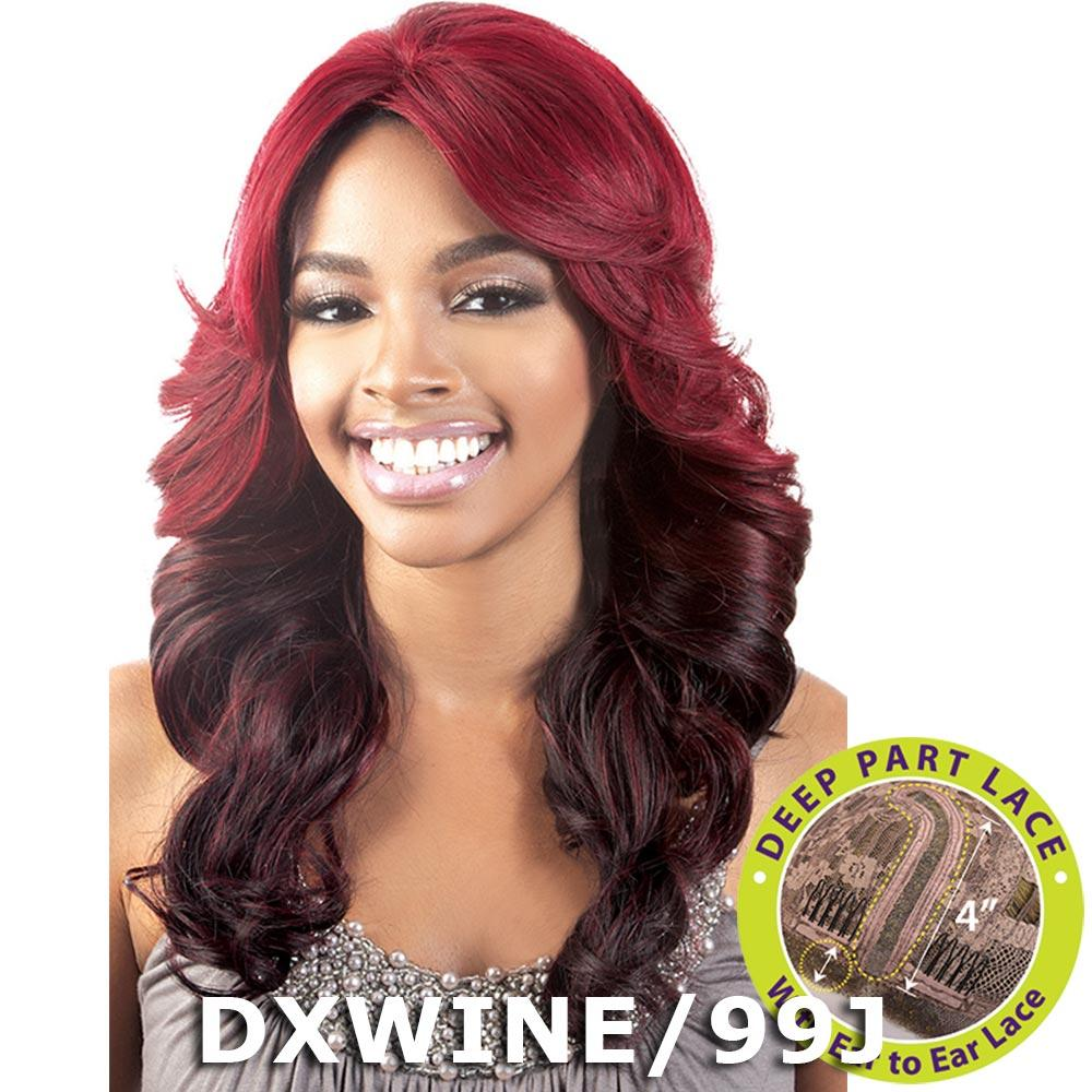 BeShe 4 Deep J-Part Lace Front Wig - LLDP-318 (18