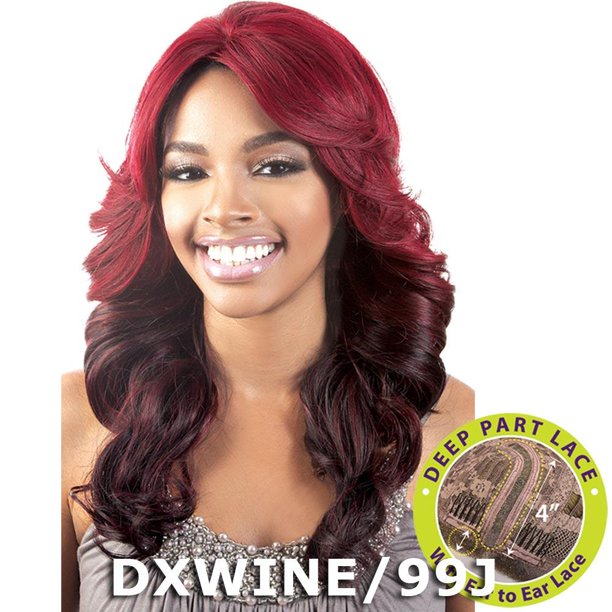 BeShe 4 Deep J-Part Lace Front Wig - LLDP-112 (DX99J