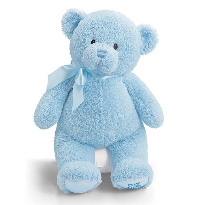 "Gund My First Teddy Bear 15"" Blue by Gund"
