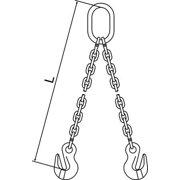 PEWAG 7G120DOG/5 Chain Sling,G120,DOG,Alloy Steel,5 ft. L