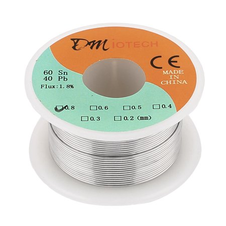 0.8mm 35G 60/40 Rosin Core Tin Roll Soldering Solder Wire](rosin core solder for electronics)