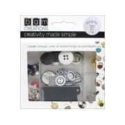 Buttons Galore BGM Creations Ring Kit Tweens