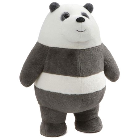 We Bare Bears Standing Panda Plush - Panda Bear Mascot