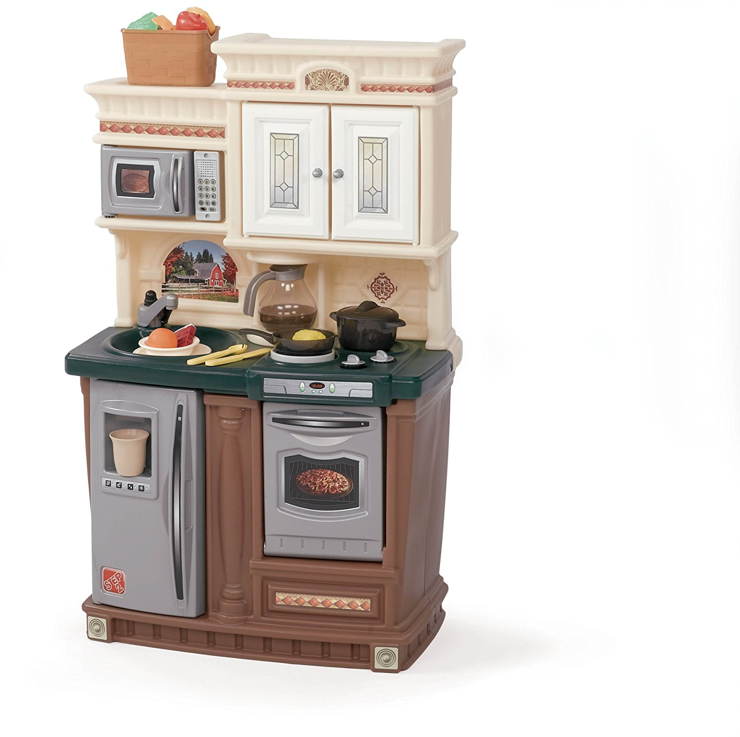 Step2 Lifestyle New Traditions Kitchen Set Walmart Com