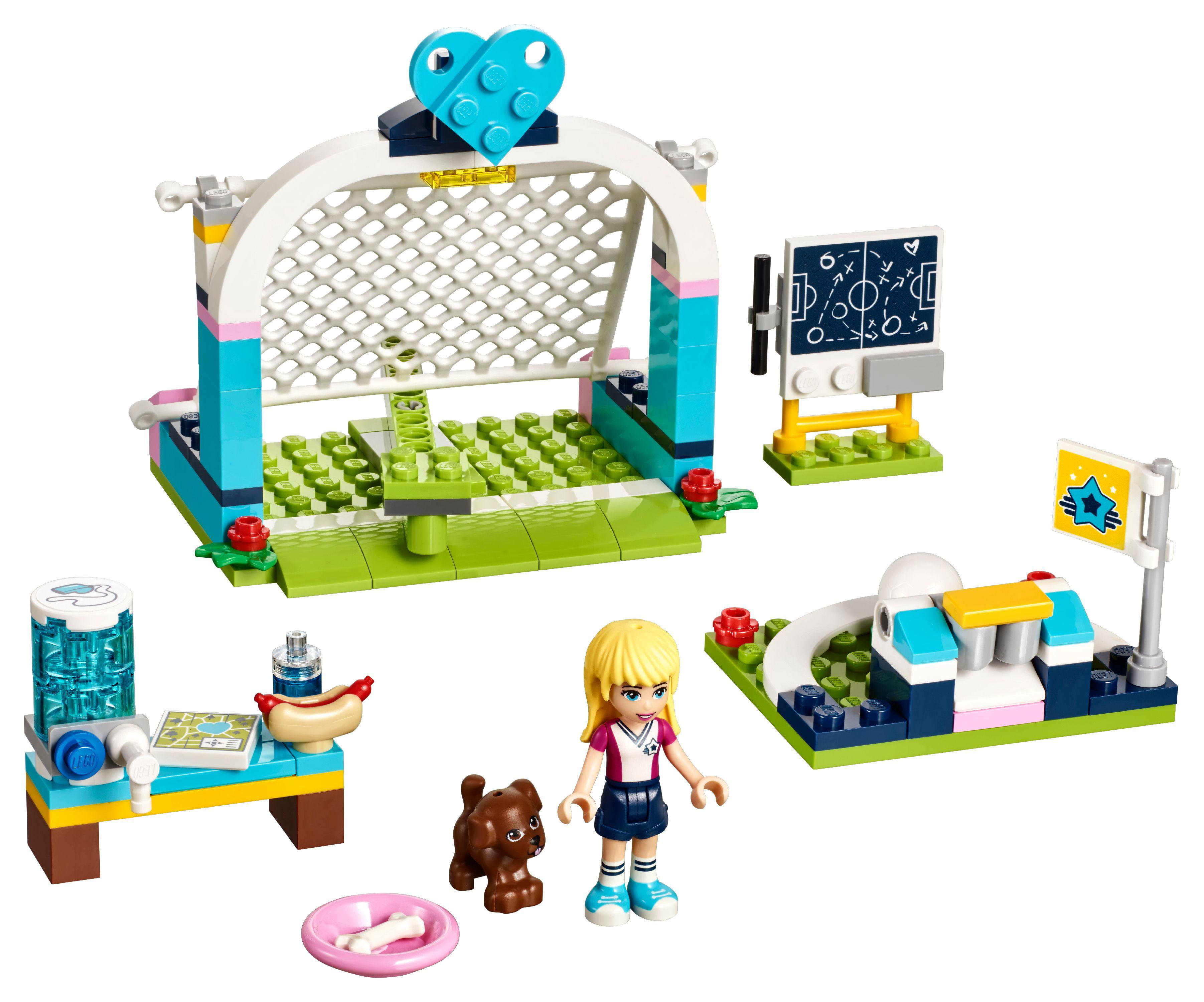 LEGO Friends Stephanie's Soccer Practice 41330 Building Set (119 Piece)