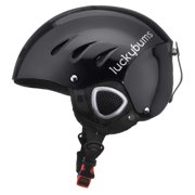 Lucky Bums Snow Sport Helmet, Black, Large