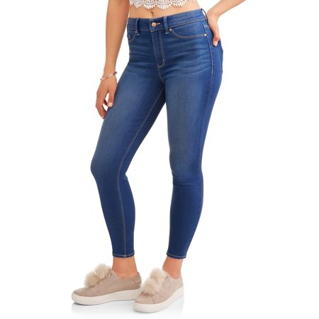 Juniors' High-Rise Basic Skinny Jeans