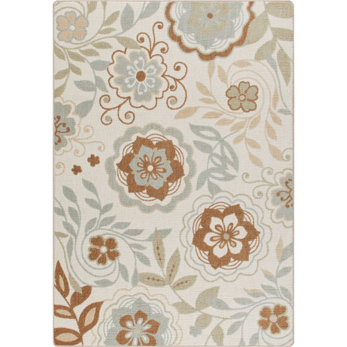 Milliken Mix and Mingle Ivory Garden Passage Rug